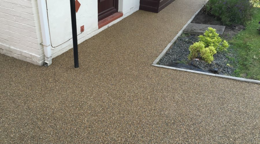 Beautiful Resin Bound Paving in Newcastle from Sentinal Surfacing