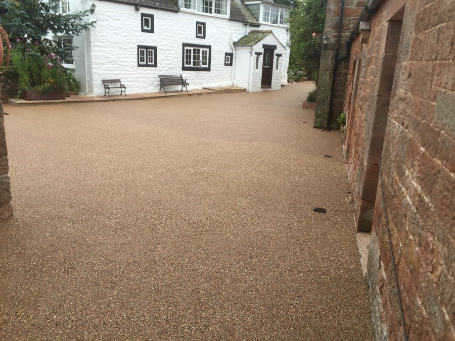 Resin Bound Paving in Newcastle from Sentinal Surfacing